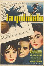 Programa de CINE. Título película: LA QUINIELA.