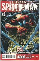THE SUPERIOR SPIDER-MAN #1 all comics are near mint to mint  bagged and boarded