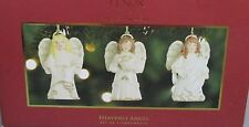 Lenox Holiday Heavenly Angels Christmas Ornaments New in box