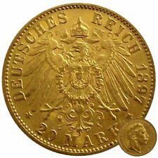 ++ Kaiserreich - Wilhelm II - 20 Mark ++