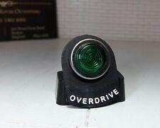VINTAGE classiche Kit Auto LED Illuminato Verde Overdrive avvertenza scheda Indicatore Luce