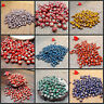 6mm 50x Flower Glaze Ceramics Spacer Beads for DIY Jewelry Accessories DesiPLUS