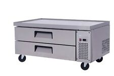 "Migali C-Cb48 48"" Refrigerated Chef Base - 2 Drawers - 15 Pans*"