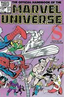 Official Handbook Of The Marvel Universe S Comic 10 Bronze Age 1983