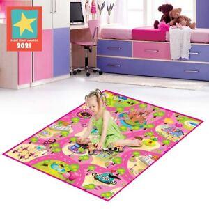 Eduk8 Candyland Play Mat - Kids Children's Educational Floor Gym (120x100 cm)