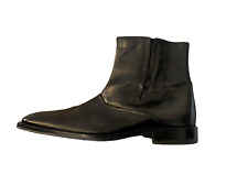 Johnston & Murphy Mens black square toe 20-6427 ankle dress boots shoes 11.5M