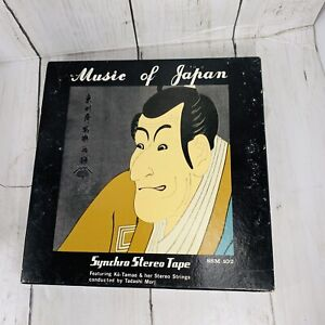 Music   of Japan  Synchro Stereo Tape original from July 1964 SSM 102