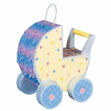 Baby Shower BABY CARRIAGE /  PRAM PINATA  NEW