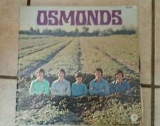The Osmonds Self Titled Vinyl Record LP 1971 MGM