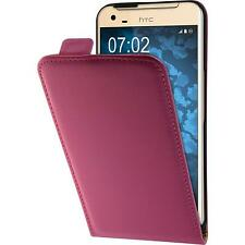 Artificial Leather Case for HTC One X9 - Flip-Case hot pink Case