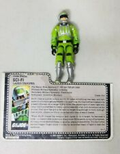 New listing Vintage 1986 Gi Joe Sci-Fi Action Figure Hasbro Arah Loose With File Card