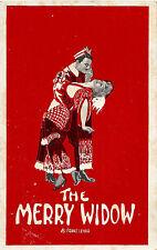 "Franz Lehar ""MERRY WIDOW"" Henry W. Savage 1910 Port Huron, Michigan Postcard"