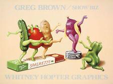 Greg Brown Show Biz Kitchen Funny Fantasy Picture Print Poster 18x24