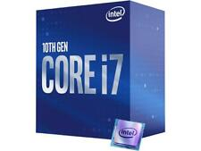 Intel Core i7-10700 Comet Lake 8-Core 2.9 GHz LGA 1200 65W BX8070110700 Desktop