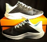 Nike QUEST 3 Womens Black Blue Volt CD0232 005 Athletic Sneaker Shoes Size 9
