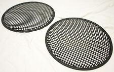 """NEW MTX PGP15 Steel Black Speaker Grill Pair 15"""" Diameter 18 Gauge - USA Made"""