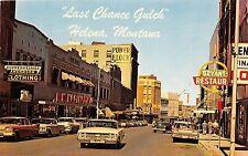 Montana postcard Helena Last Chance Gulch street scene Woolworths Bryant's
