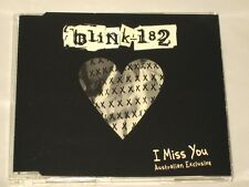 BLINK 182 - CD SINGLE - I MISS YOU - AUSTRALIAN EXCLUSIVE