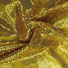 Gold Sequins Fabric Gold Fabric By The Yard Shiny Fabric Costume Fabric Sewing