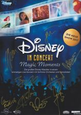 DISNEY IN CONCERT GIL Foto 20x30 alle 8 original signiert IN PERSON Autogramm