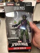 "Green Goblin Marvel Legends 6"" Action Figure No Sandman BAF Pieces Series In Box"