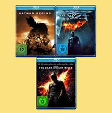 ••••• The Dark Knight Trilogie (Christian Bale) (3 Blu-rays) ☻