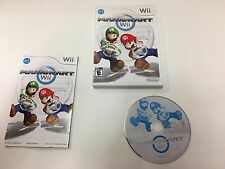 SUPER MARIO KART wii with GAME CASE and MANUAL COMPLETE SYSTEM NINTENDO NES HQ