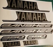 2004 yamaha banshee limited edition full graphics kit decals  OEM SPECS