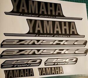 2004 yamaha banshee limited edition full graphics kit decals  OEM SPECS