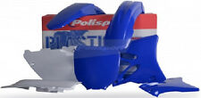 Polisport Plastic Kit Set Blue Complete Yamaha YZ125 YZ250 2002-2005