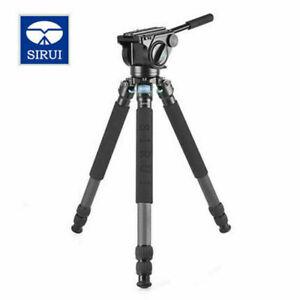 Sirui R-4213X Tripod +VH-15 Fluid Video Head Pro Carbon Fiber Stable