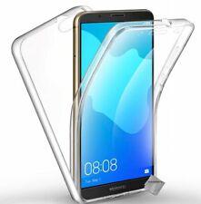 Housse etui coque gel 360 integrale Huawei Honor 7S + film ecran - TRANSPARENT