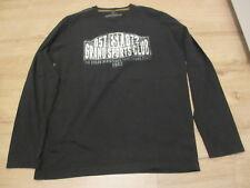 Tom Tailor  Langarmshirt T-Shirt Shirt mit Druck  , schwarz, Gr. L, neuwertig