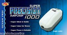 AP1000 PRECISION AIRPUMP SMALL AIR PUMP IDEAL FOR AQUARIUM BIORB FISH TANKS
