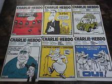20x Revue CHARLIE HEBDO Année 2000