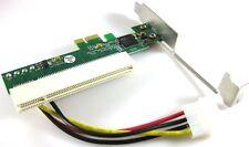 PCI-E Express Slot Expresscard to PCI Card Adapter E Bridge 3.3V 5V 12V