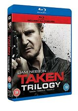 TAKEN TRILOGY 1 2 3 MOVIE COLLECTION BOXSET BLU RAY LIAM NEESON