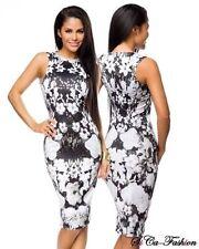 Markenlose knielange Damenkleider für L