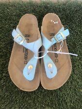 Women's Birkenstock Gizeh Leather Sandal Sz 7