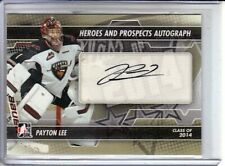 2013-14 ITG Heroes and Prospects Autographs #APL Payton Lee