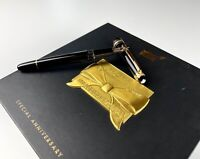 Penna Montblanc 75th fountain pen limited edition diamond meisterstuck