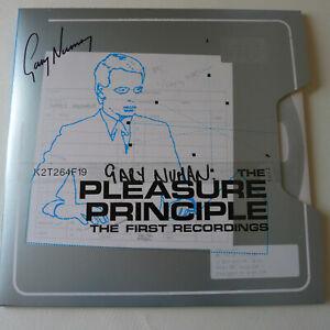 Pleasure Principles 40th LP Coloured Vinyl Ltd Edition - signed by Gary Numan