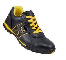 URGENTE NEGRO Calzado De Seguridad Zapatos S1 Cuero Deportivo,Seguro