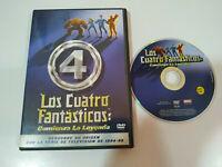 Los Quattro 4 Fantastici Inizia La Legenda Stan Lee - DVD Spagnolo Inglese - Am