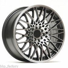 XXR 553 18 x 8.75 + 9.75 5x112 5x120 BLACK MACHINED RIMS ALLOYS WHEELS Z2941/44