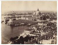 Italia Venezia Albume D'Uovo Vintage Ca 1880