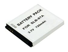 CS Power SLB-07A SLB07A Replacement Li-ion Battery For Samsung Digital Camera