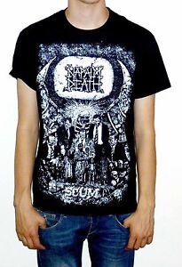 """Napalm Death """"Scum"""" Vintage Print T Shirt - OFFICIAL"""