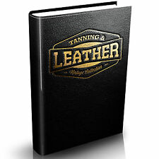 Leather Work Collection 50 Rare Vintage Books on DVD Tanning Crafting Decoration