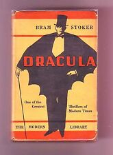 DRACULA (Bram Stoker (1st stated Modern Library edition US/1932/vampire)